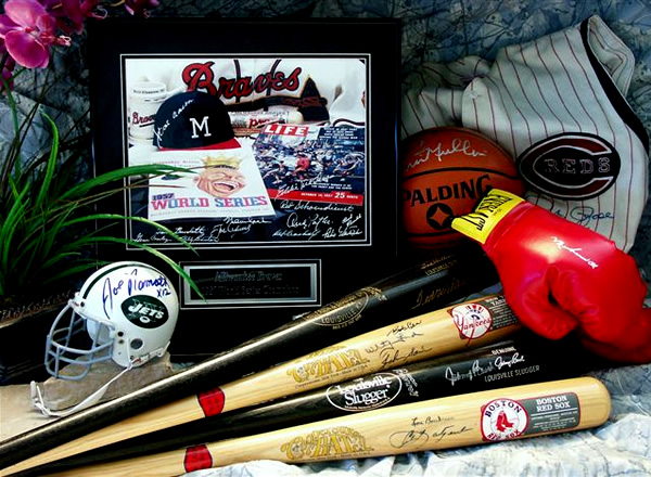 Autographed Collectibles and Sports Memorabilia